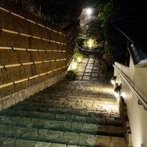 ダイニング入口階段