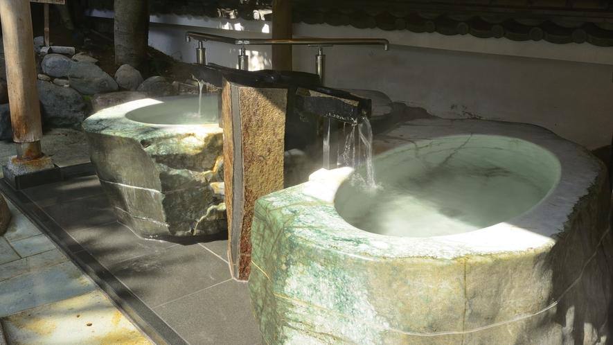 御神木の湯 翡翠風呂