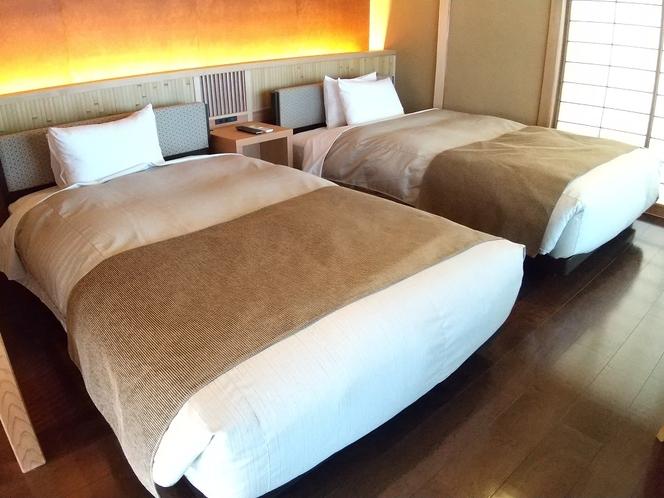 ベッド2台