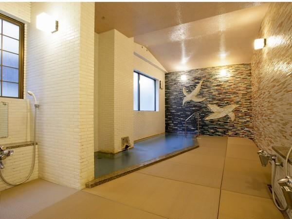 畳敷き小浴場