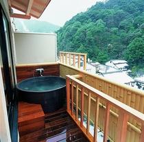 客室露天風呂(特別室和室)