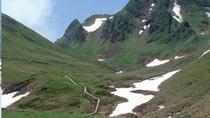 残雪の駒ヶ岳