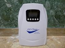 【オゾン脱臭器2号】おぞんくん2号。最新鋭のマシンで、爽やかな客室をご用意致します。