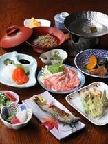 女将手作りの奥飛騨郷土料理