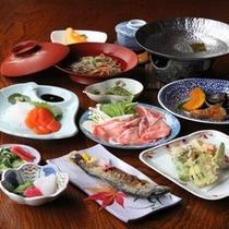 女将手作り奥飛騨郷土料理