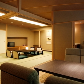 禁煙:12.5畳和室と掘りごたつのお部屋・展望風呂(AW)