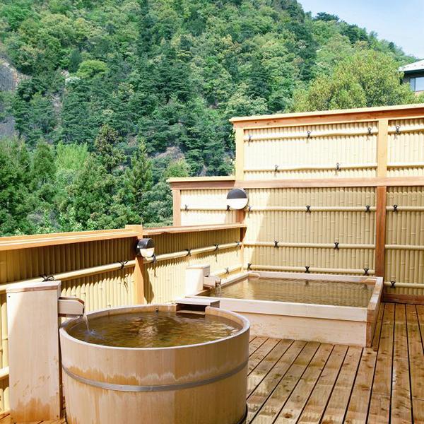 大浴場 「木の湯 露天風呂