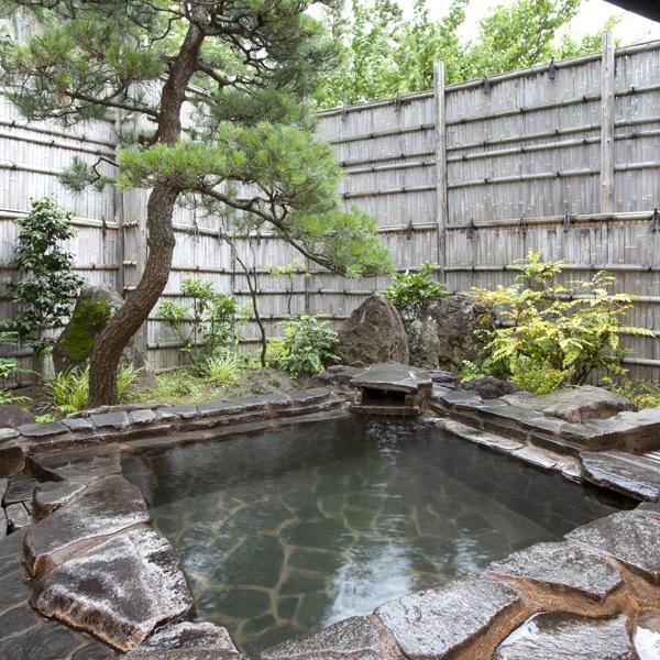露天風呂付き客室風呂
