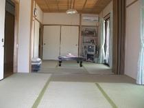 広々12畳の和室