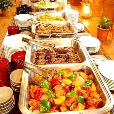 1泊2食付!当館一番人気!夕食・朝食共に手作り♪お袋の味バイキング※バス・トイレ無