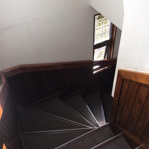 【ビジネスタイプ】2階へは階段をご利用いただきます