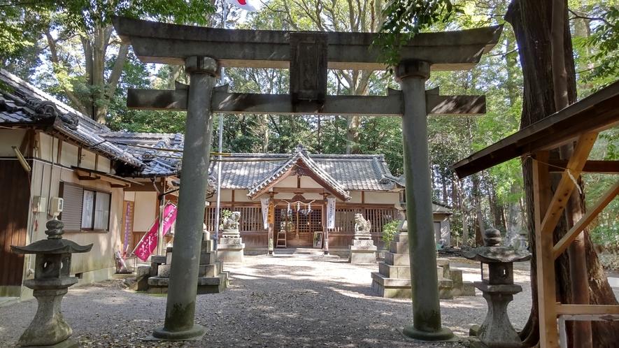 忍山神社1