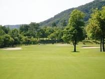 城里ゴルフ倶楽部2番ホール