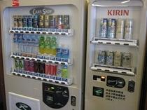 自動販売機は1階、14階リラクゼーションルームにございます。
