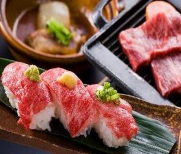 牛づくし料理01(一例)