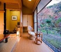 藤(20)庭園側 新館客室02