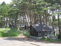 北侍浜野営場の管理棟