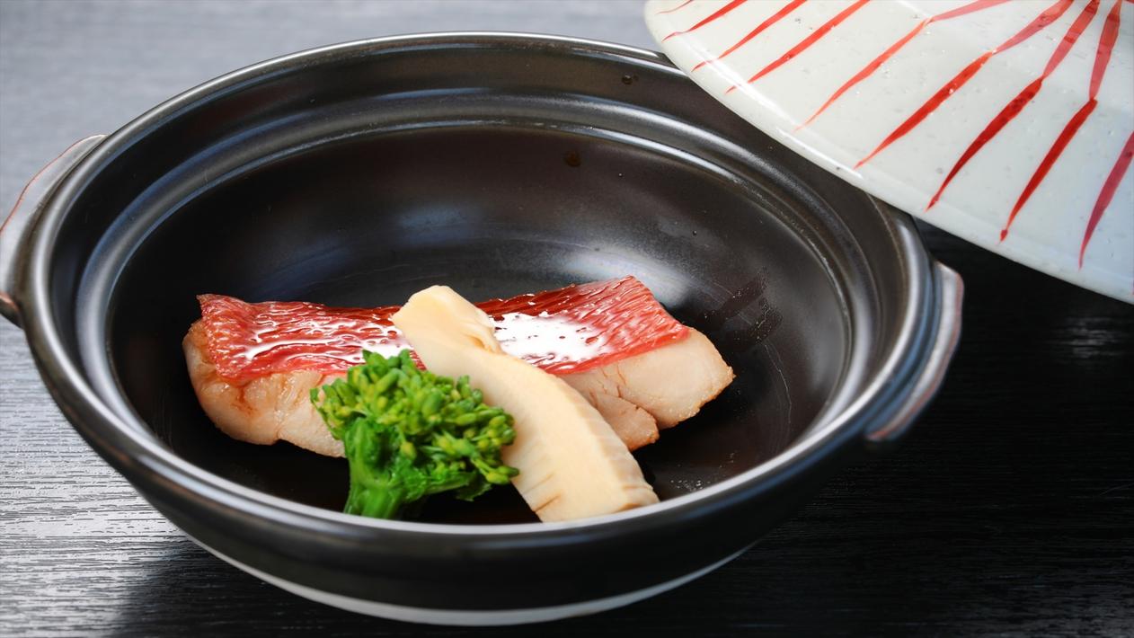 【夕食】煮物〜金目鯛煮付け〜