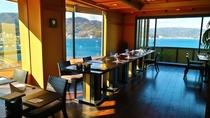 【9階レストラン~蒼海~】眺望抜群の最上階レストランでございます