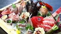 【海鮮盛り】伊東近郊の魚介を贅沢に盛り込んだ豪華な一品