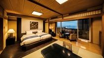 【ハリウッドツイン和洋室1間】シモンズ製のベッドで快適な睡眠を。