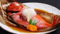 【金目鯛煮付け】伊豆の名物。和職人の味付けは一味違います