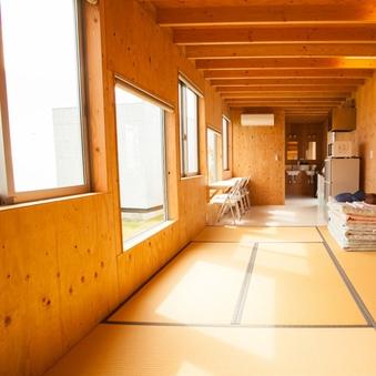 【サンセットヴィレッジ】Aタイプ畳部屋・布団対応(定員4名)