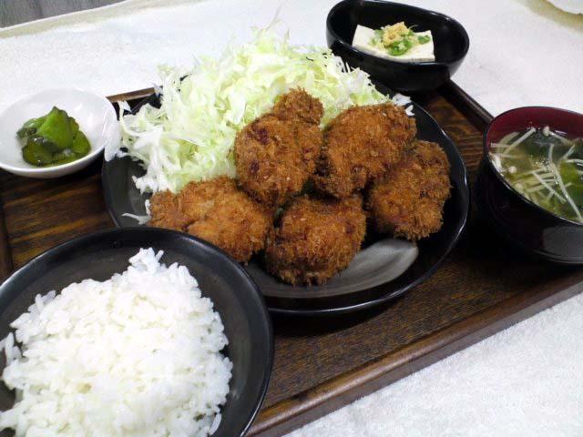 美ら豚ヒレカツ定食【日替定食】