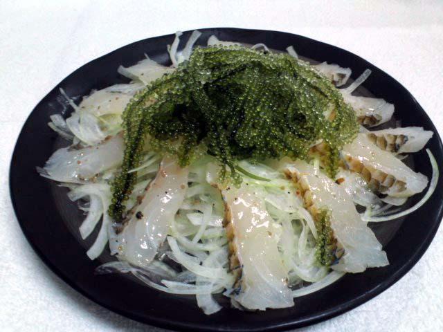 近海魚のカルパッチョ【4品コース】