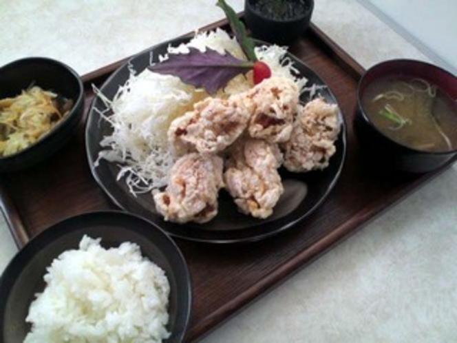 美ら鶏唐揚げ定食【日替定食】