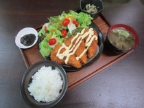 サメフライ定食<期間限定>