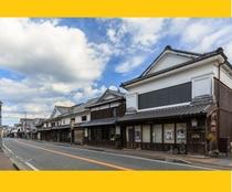 【吉井町 白壁町並み】ホテルから車で約30分 地元の果物を使ったスイーツのお店もあります!