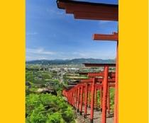 【浮羽稲荷神社】ホテルから車で約25分 91基の鳥居は圧巻!ぜひ写真におさめて下さい!