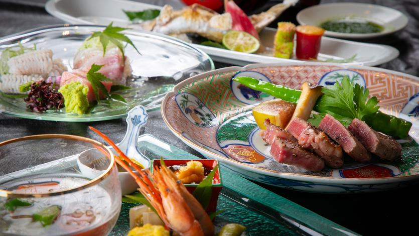 ■夕食イメージ■美しい器とともに