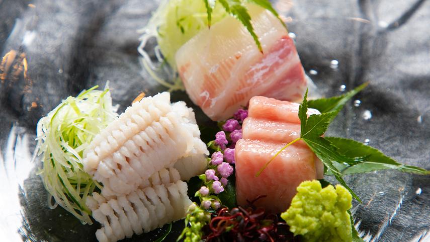 ■夕食イメージ■地元食材を吟味した 「和懐石」を美しい器とともに