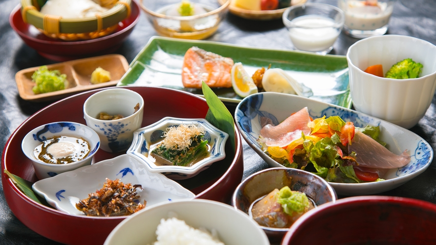■朝食イメージ■一日の始まりはからだが喜ぶ優しい朝食で。