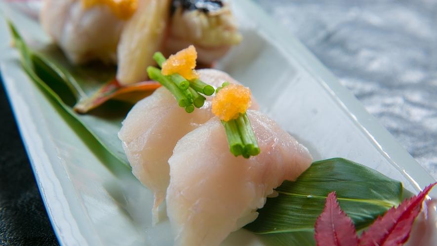 ■夕食イメージ■ふぐの甘みと旨味を感じるふぐ寿司