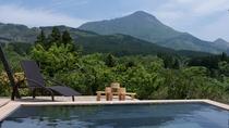 ■貸切家族風呂■湯布院随一の由布岳眺望