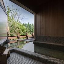 ■青壁■半露天風呂