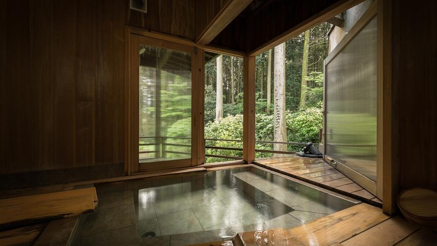 ■瑠璃■半露天風呂