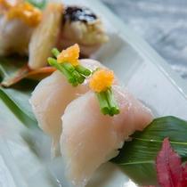 ふぐの甘みと旨味を感じるふぐ寿司