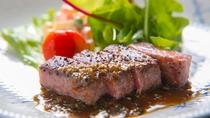 ■夕食イメージ■【ステーキ】噛むほどにおおいた和牛の甘みが口いっぱいに広がります。