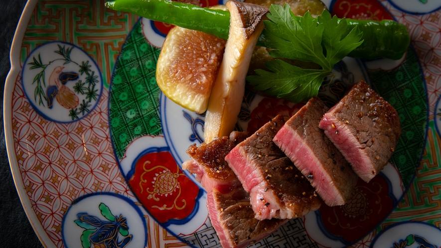 ■夕食イメージ■料理長厳選の国産黒毛和牛