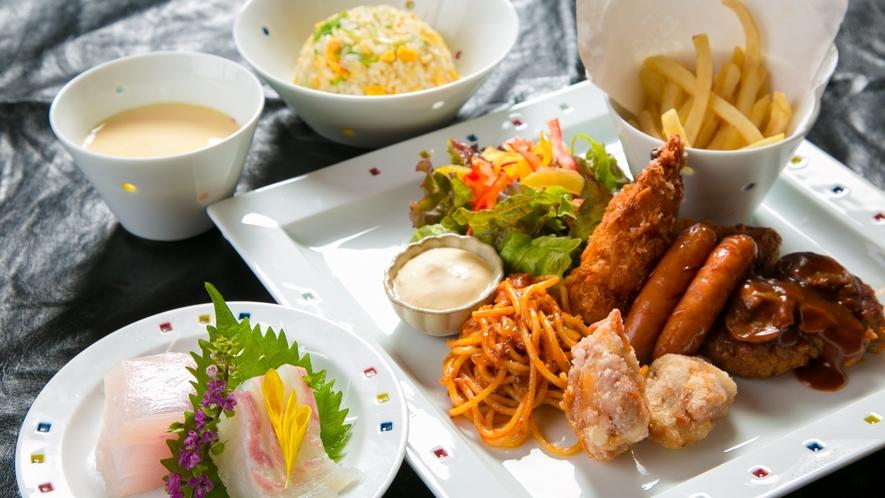 ■夕食イメージ■お子様用のお食事