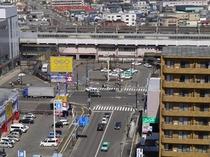 JR千歳駅(ホテル東側)