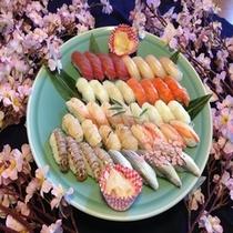 津軽米使用のお寿司
