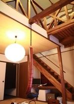 一階から見た客室の画像となります。