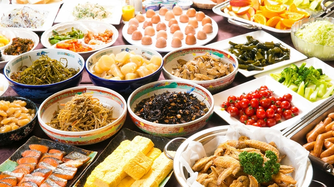 【朝食付】★地元名古屋の美味しいを朝からお腹いっぱい♪『和・洋・中』約40種類の朝食バイキング付♪