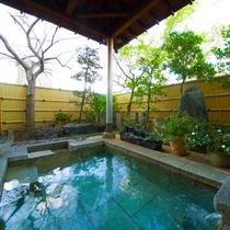 ■庭園露天風呂(朝)■爽やかな風を感じながらの朝風呂はいかがですか?スッキリ目が覚めオススメです!