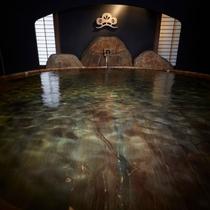 ■檜桶風呂の大浴場「月の湯」